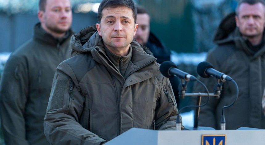 Zelensky: Enemy offensive in Donbas attempt to disrupt peace process