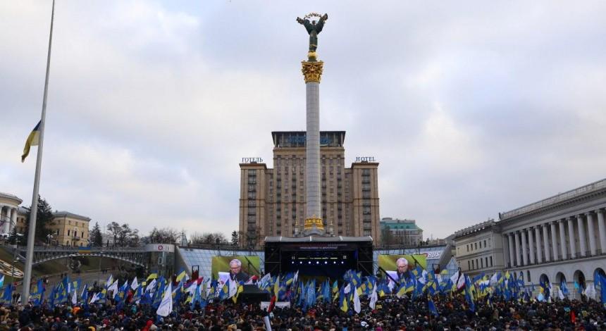 Народне віче «Червоні лінії» на Майдані Незалежності - фоторепортаж УНІАН