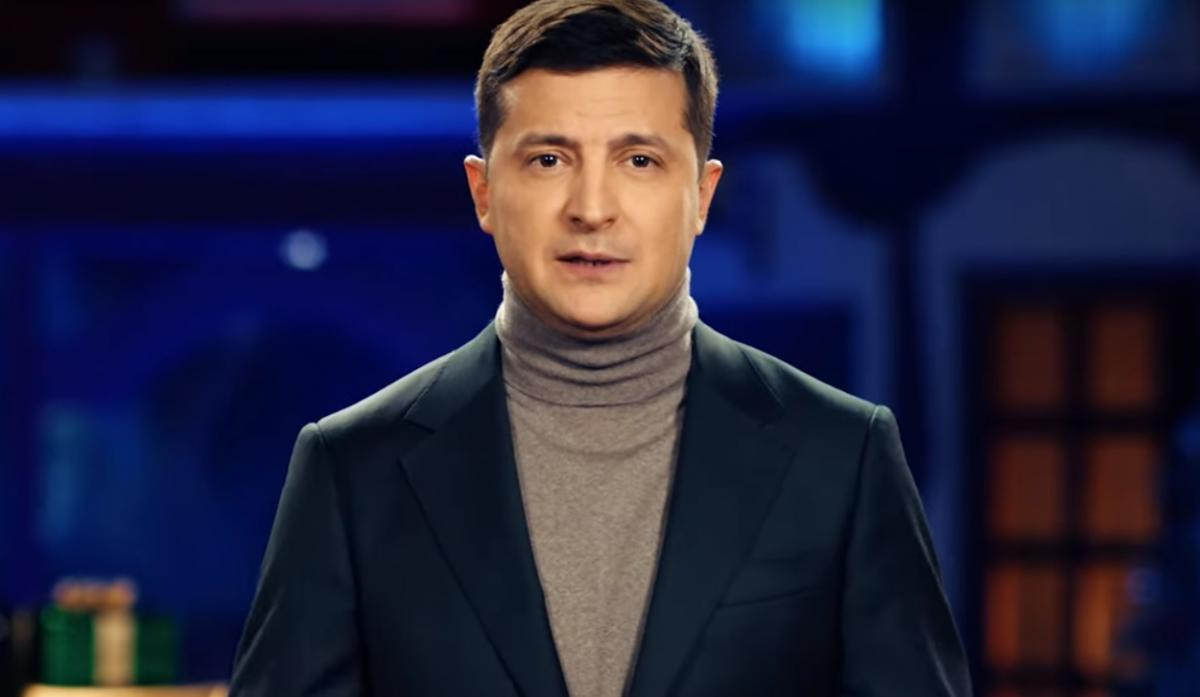 Zelensky delivers New Year's greetings to the nation / snap from video