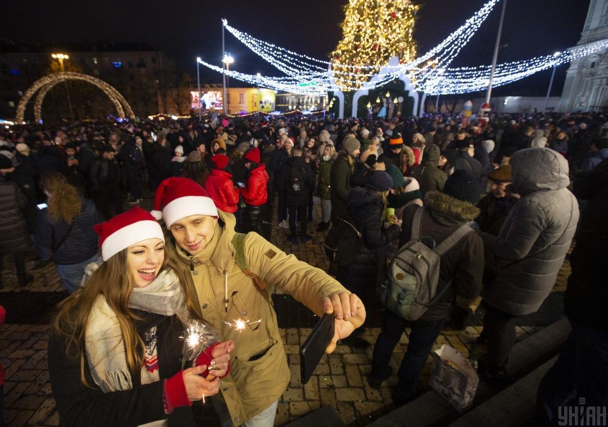 Київська ялинка у топі кращих в ЄС