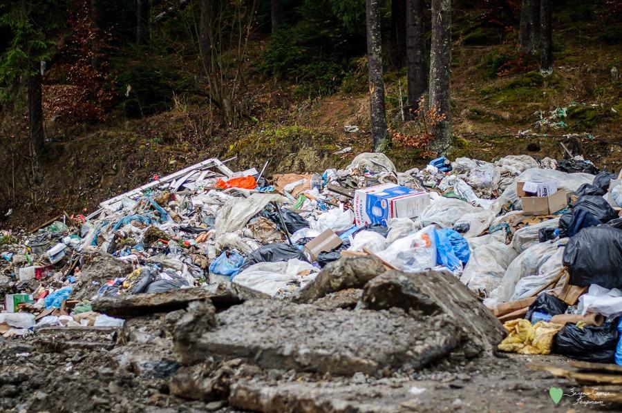 Люди залишили після себе гори сміття у Карпатах / Фото: Facebook, Зелене серце Карпат