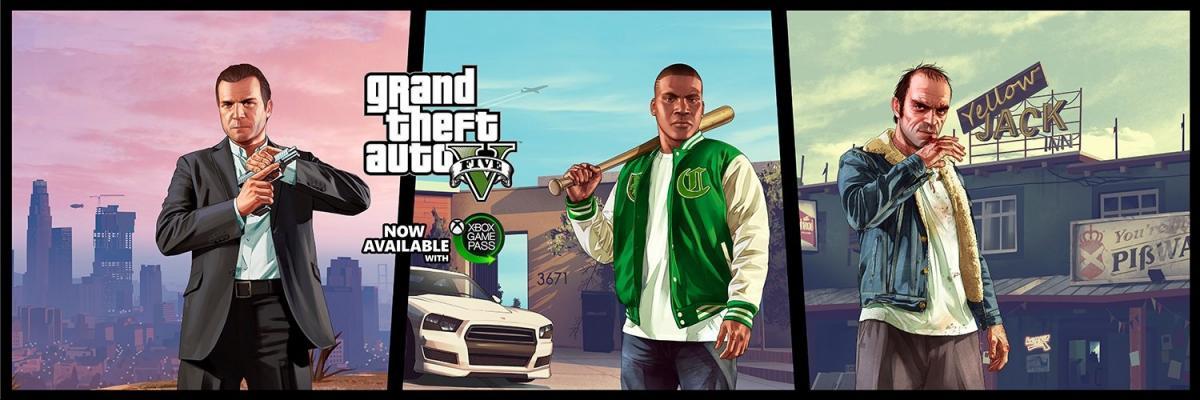 GTA 5 стала доступна по подписке Xbox Game Pass / twitter.com