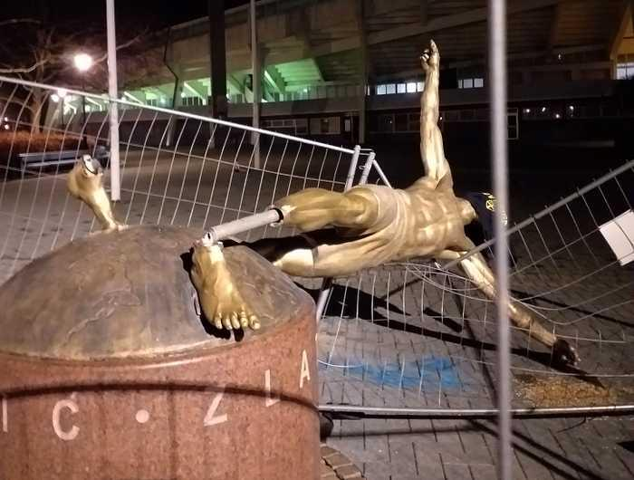 Статуя Златана Ибрагимовича / фото: aftonbladet.se