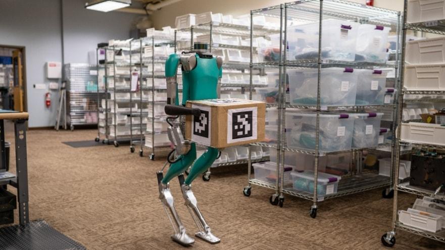 Роботы Digit могут стать курьерами / media.ford.com