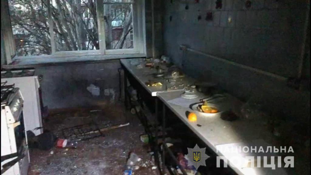 В результате взрыва пострадали три человека / od.npu.gov.ua