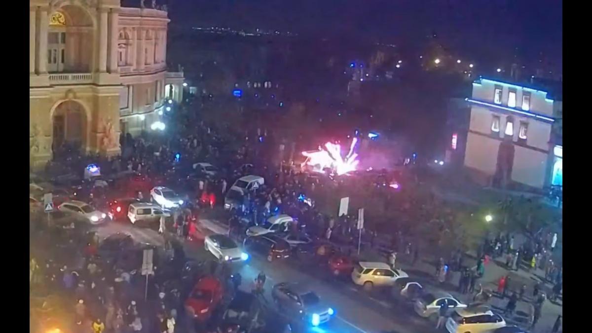 В результате происшествия никто не пострадал/ скриншот из видео