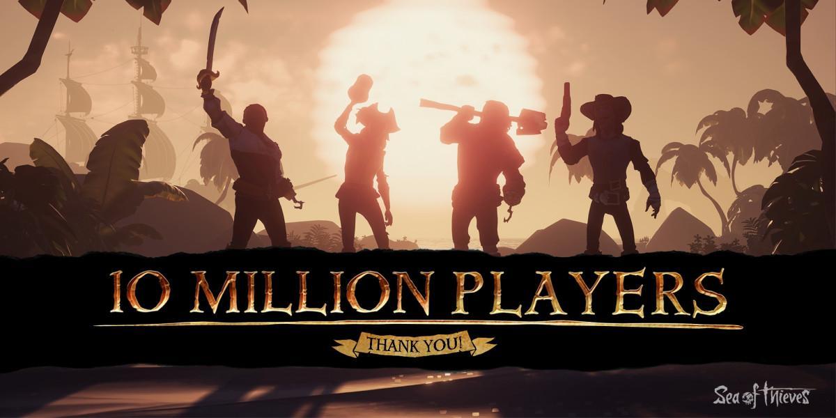 В пиратской кооперативной игре уже 10 миллионов пользователей / news.xbox.com