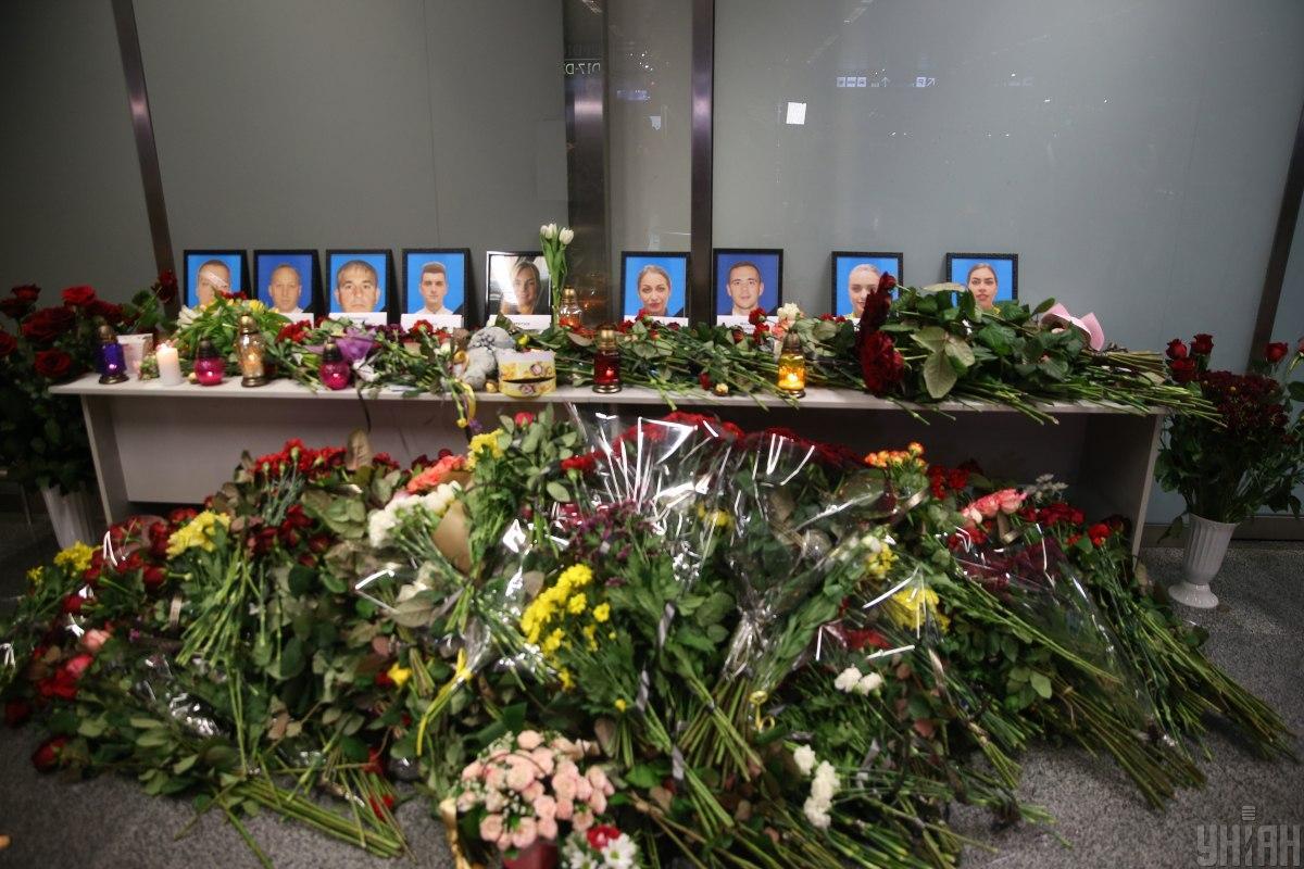 """Сегодня в """"Борисполе"""" будут чтить память жертв катастрофы самолета МАУ в Иране / УНИАН"""