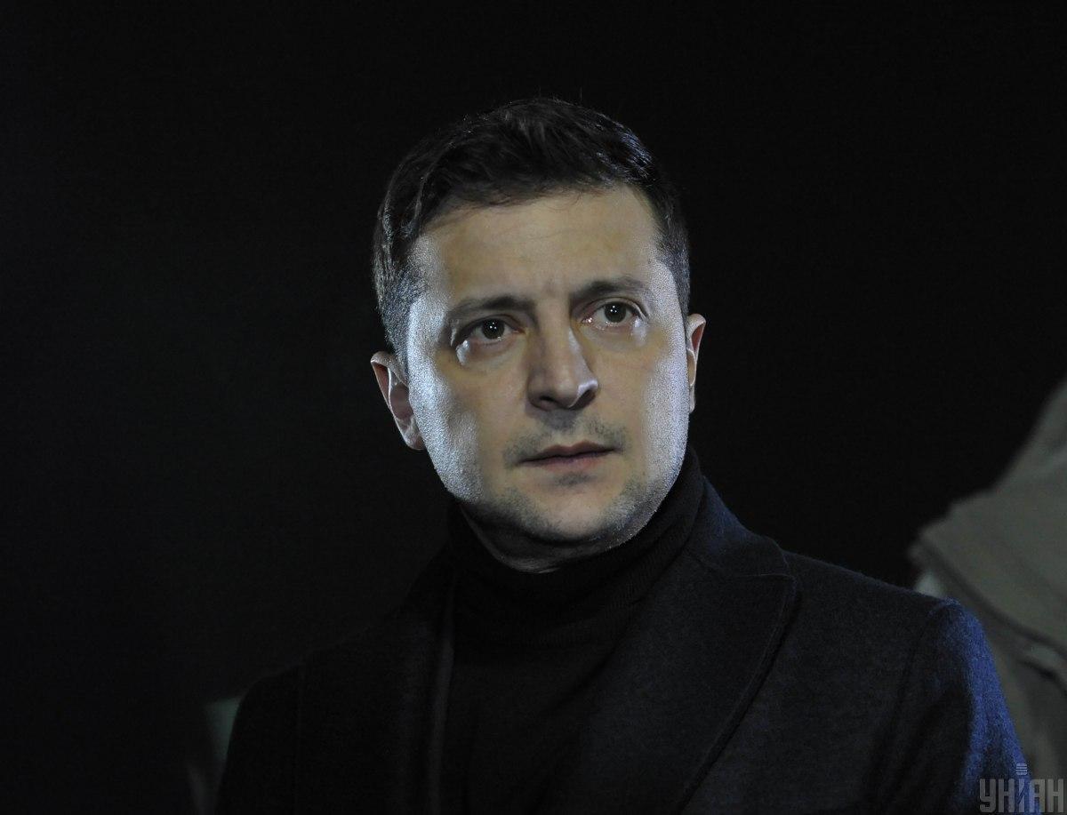 Зеленський поїхав на передову на Донбасі \ фото УНІАН