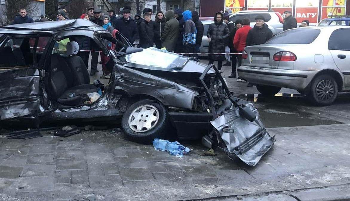 Во Львове в результате ДТП погиб ребенок / фото lv.npu.gov.ua