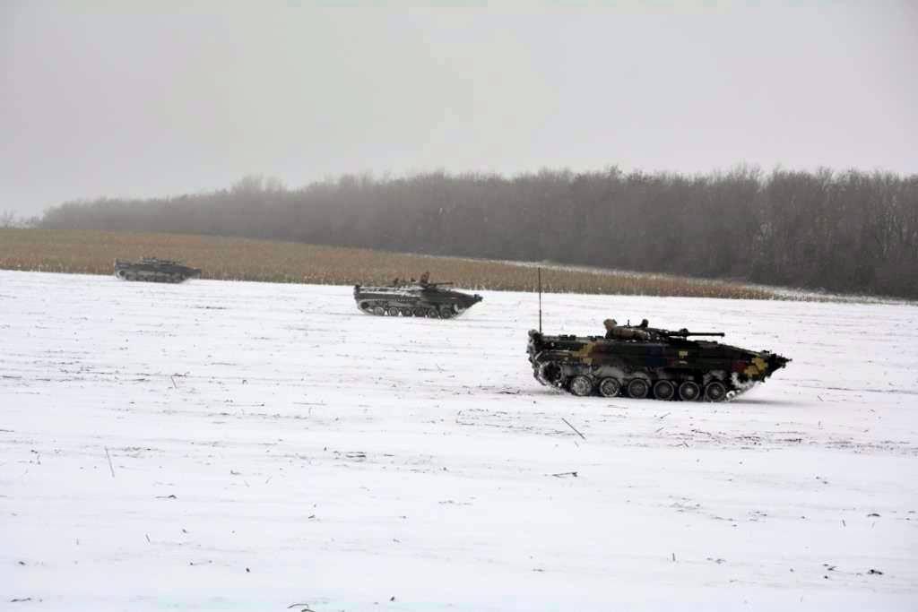 На Луганщине состоялись тренировки экипажей боевых машин / mil.gov.ua