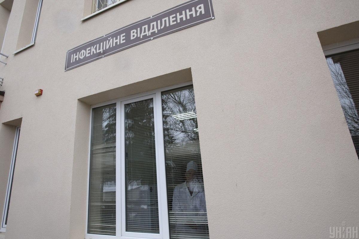 У Києві з інфекційного відділення, де перебувають хворі на COVID-19, втік голий пацієнт / фото УНІАН