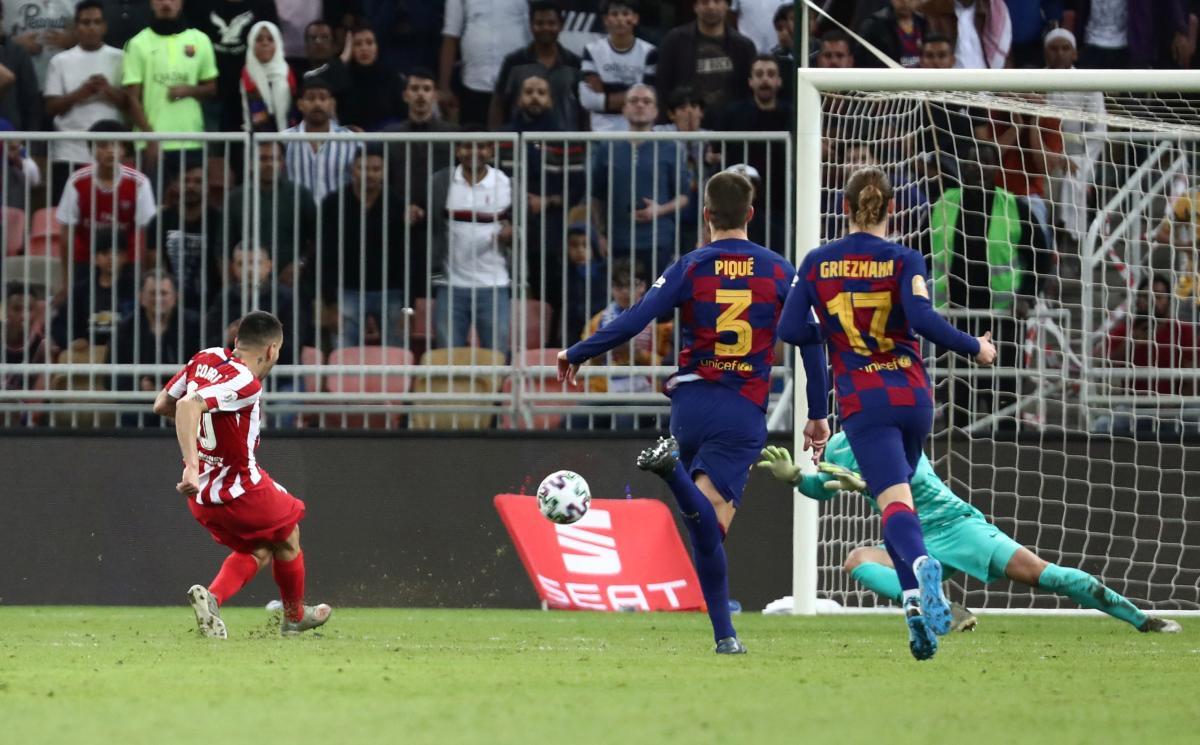 Барселона - Атлетико / REUTERS