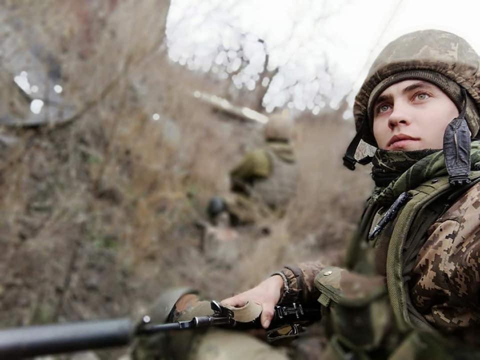 Николаю Довженко было 23 года \ 28 ОМБр имени Рыцарей Зимнего Похода