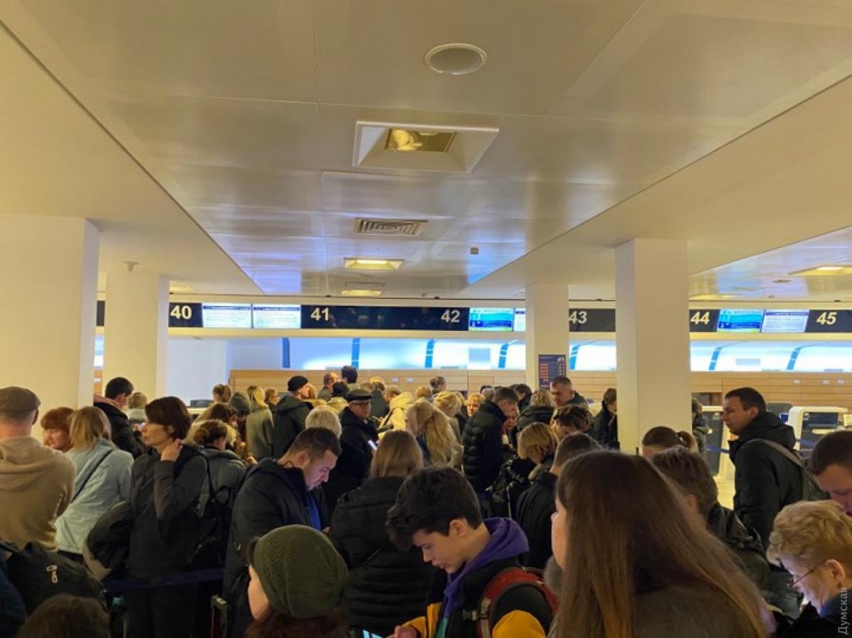 Рейс постійно переносять / фото: Думская