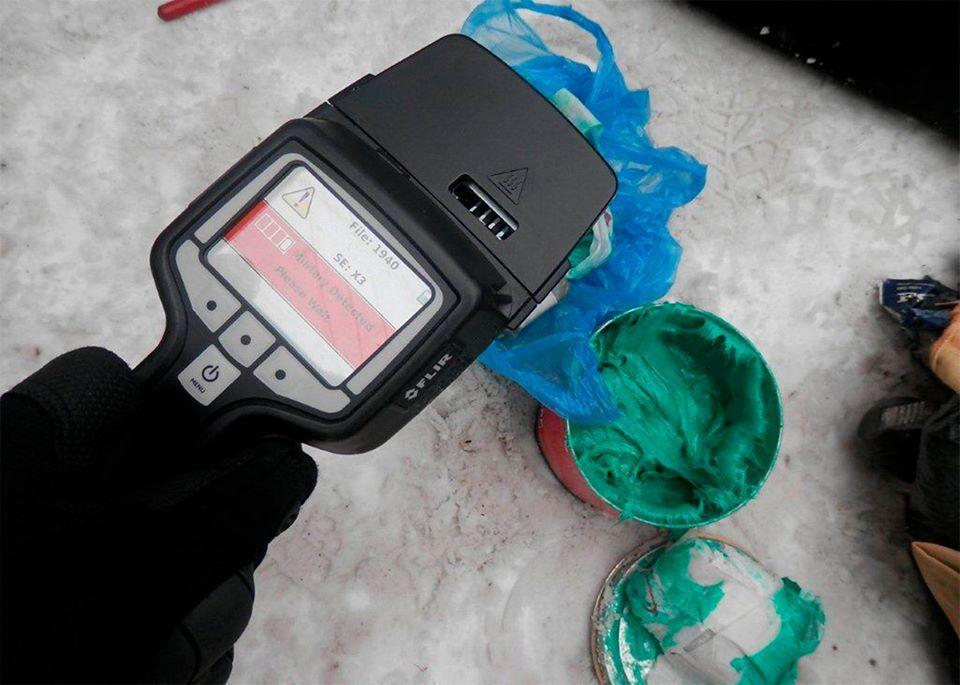 Взрывчатку нашли в багажном отделении автомобиля / фото facebook.com/pressjfo.news