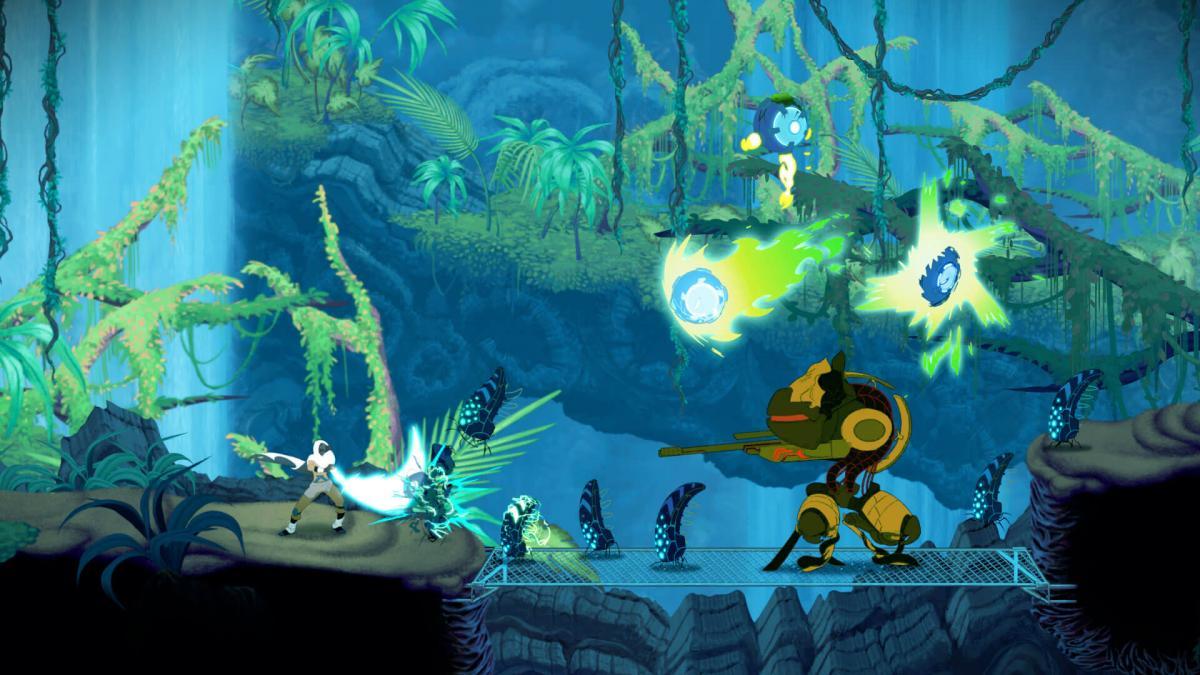 Особливістю гри Sundered є те, що рівні і персонажі в ній намальовані від руки / epicgames.com