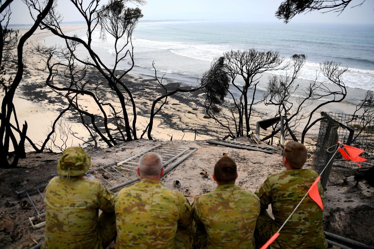 Пожары в Австралии / REUTERS