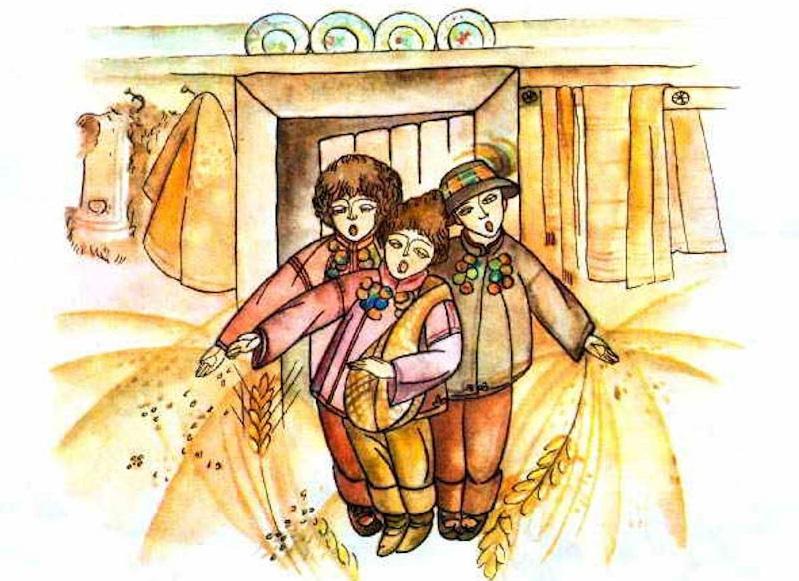 Сію-сію, посіваю - засівалки на Старий Новий рік 2020 / фото:vsviti.com.ua