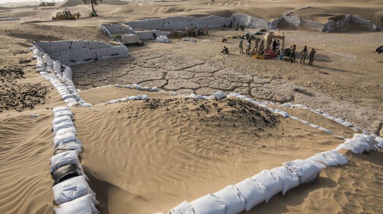 Ученые сделали открытие во время раскопок в местности Сарук Аль-Хадид / Science in Poland