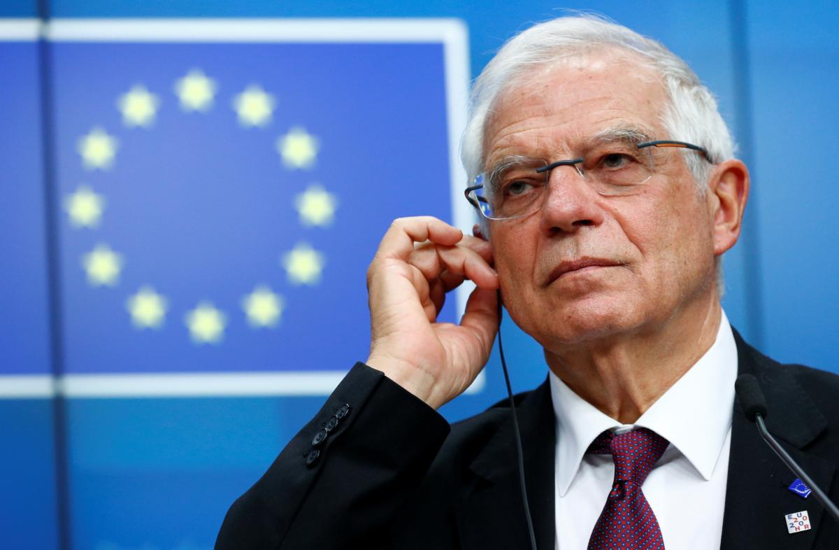 Боррель заявил, что странам ЕС нужно действовать сплоченно и решительно / фото REUTERS