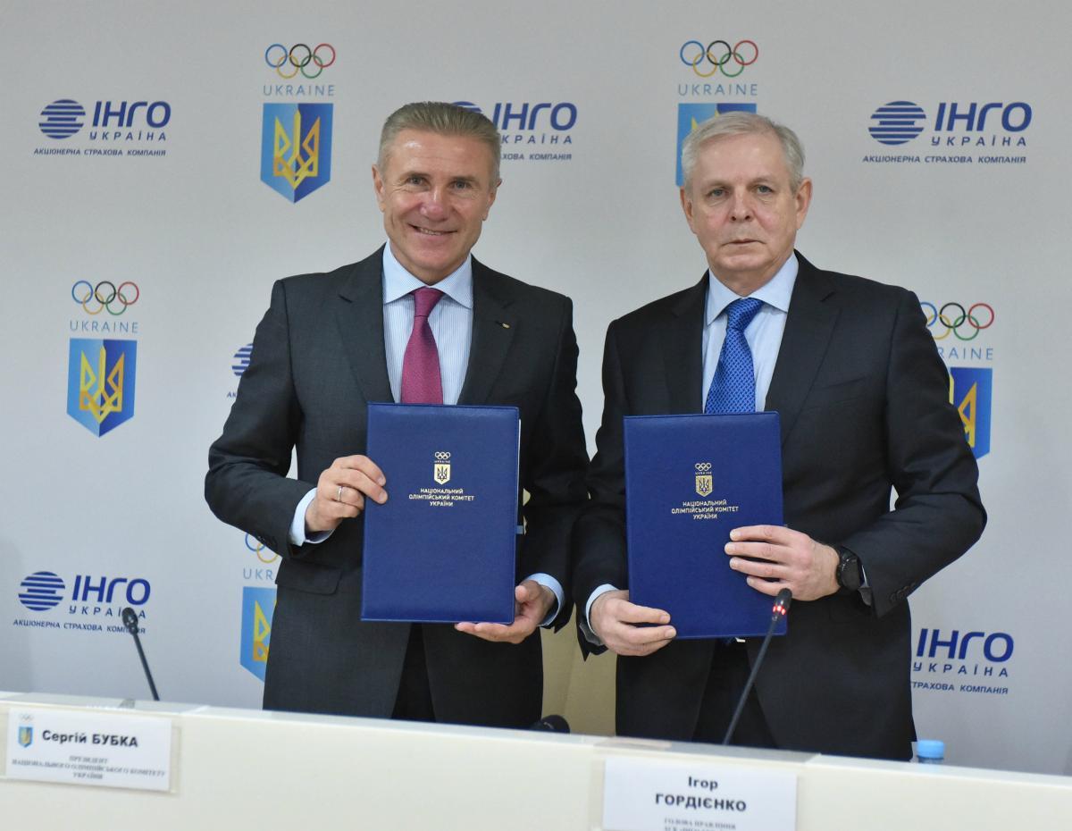 Сергій Бубка привітав продовження співпраці з «ІНГО Україна»