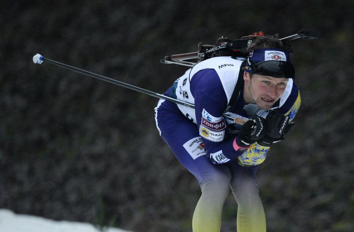 Сергій Семенов фінішував в української збірної / фото: biathlon.com.ua