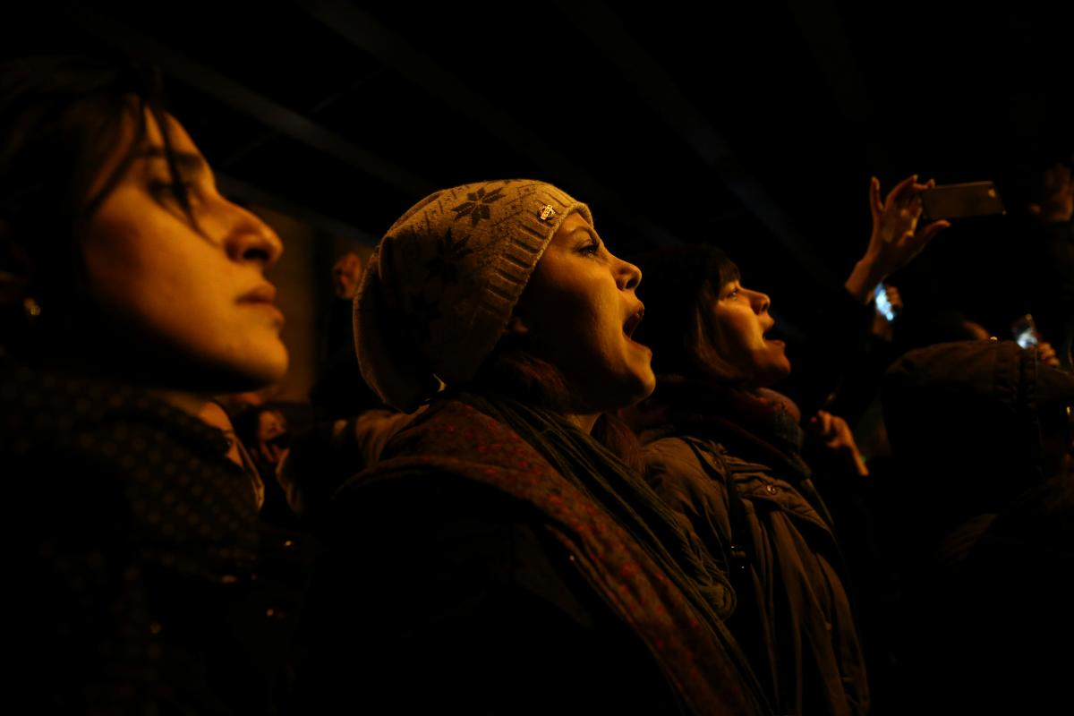 Протесты в Тегеране стали причиной задержания британского посла / REUTERS