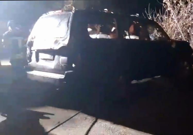 Скорее всего, во время следования по плотине ставка, легковой автомобиль съехал в водоем / Фото: ГСЧС