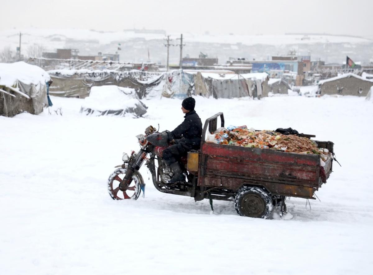 Сніг в Афганістані / REUTERS
