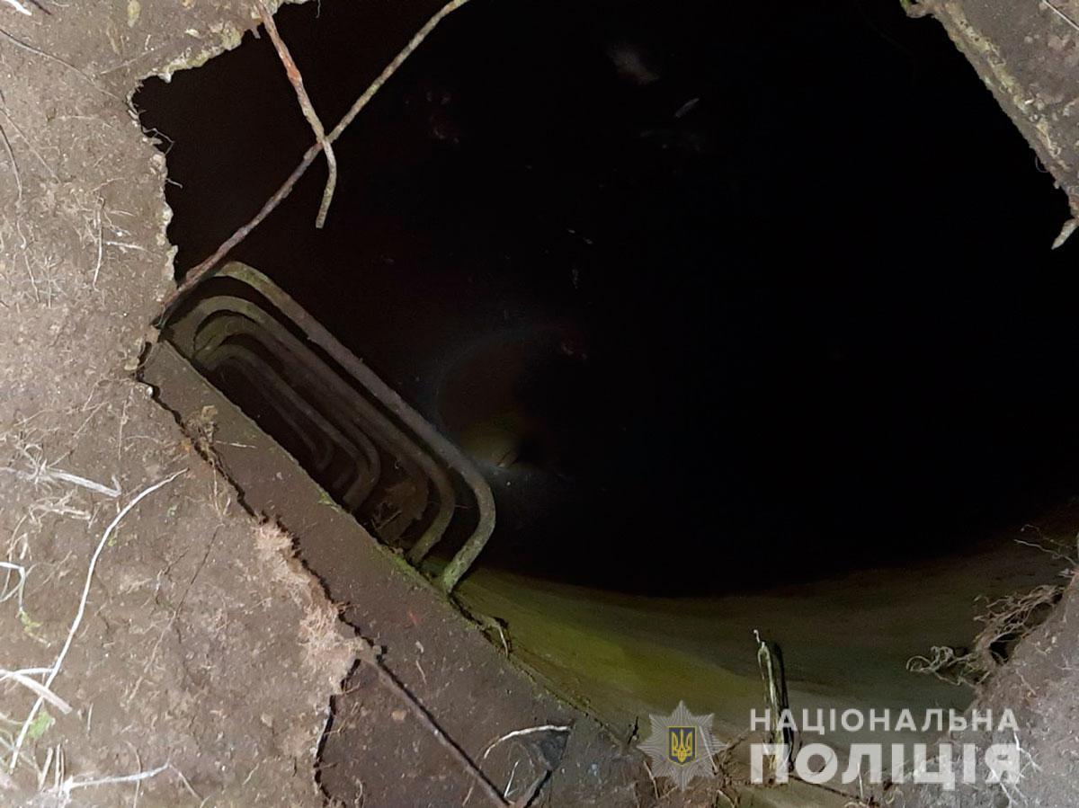 Тело новорожденного мальчика нашли в отстойнике / Фото: Нацполиция