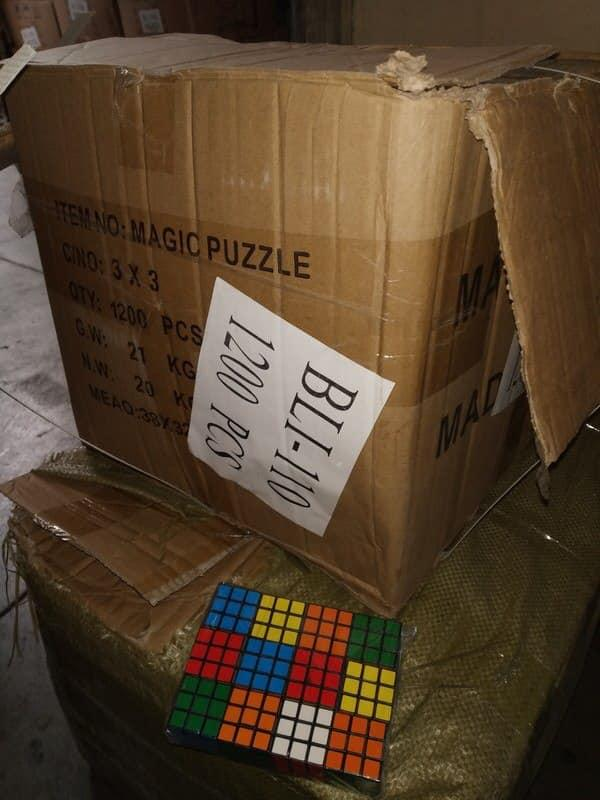 Дальнейшую судьбу поддельных головоломок решит правообладатель / Фото: facebook/max.nefyodov
