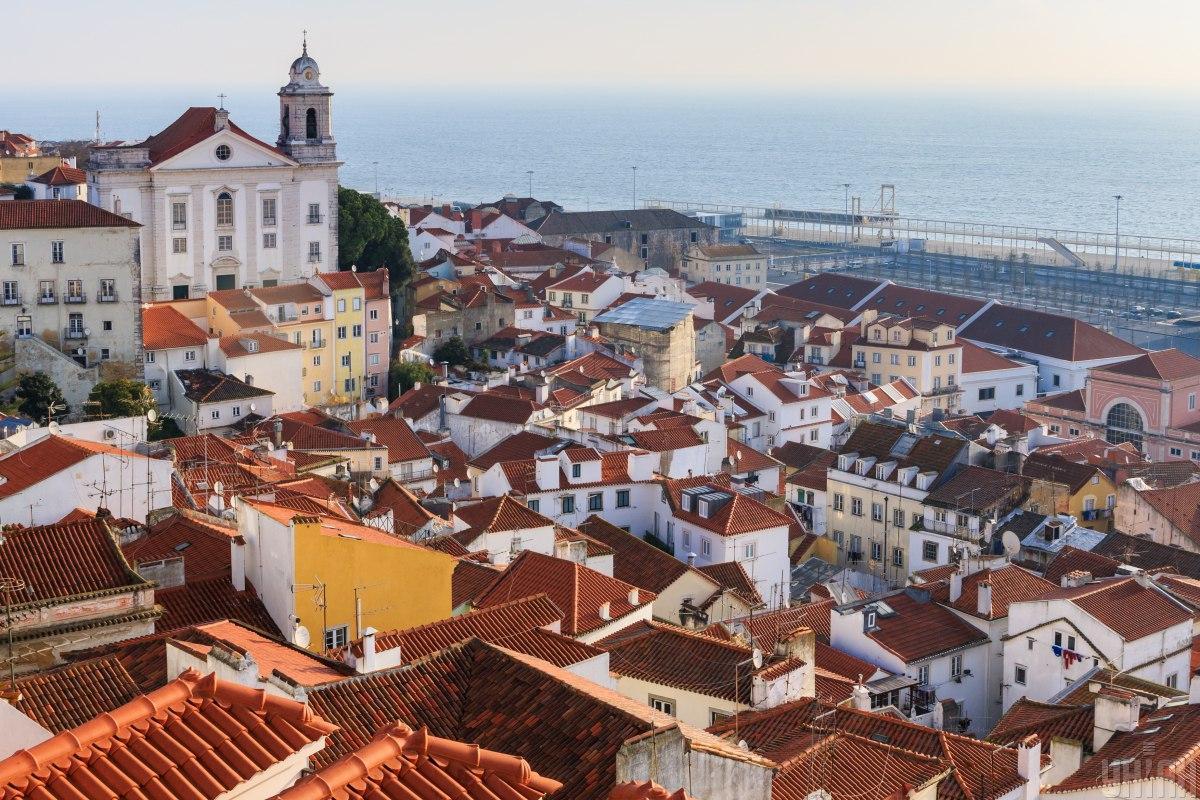 Лиссабон - это не только красиво, но и вкусно / Фото УНИАН