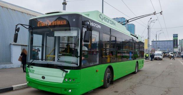 The new supply will include 12 two-section and 37 single-section trolleybuses / Photo from Kharkiv City Council