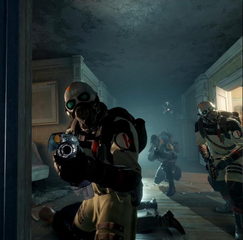 Скріншот з гри Half-Life: Alyx