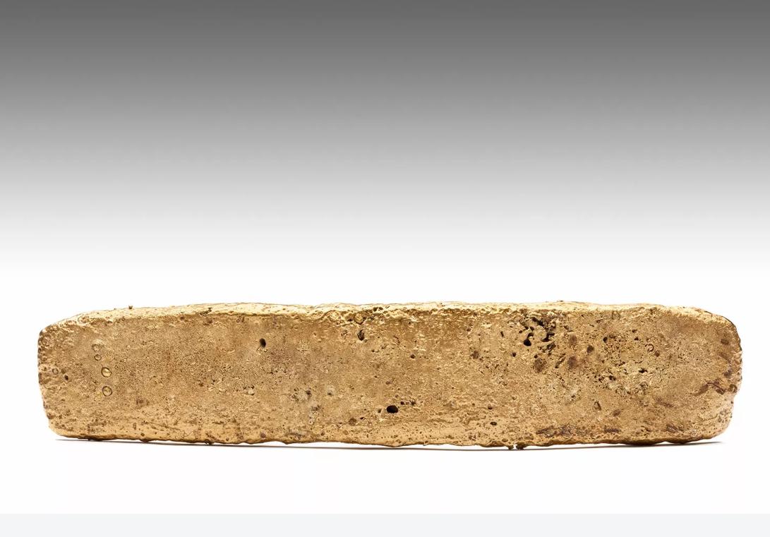 Древний кусок золота конкистадоры потеряли, когда убегали от ацтеков / MNA-INAH