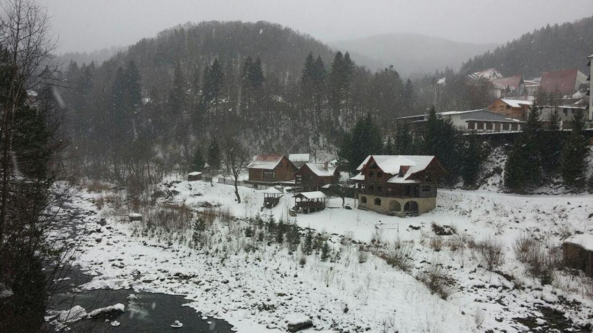 Яремче взимку надзвичайно мальовниче / фото: Ольга Броскова