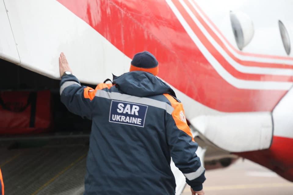 Українські рятувальники / фото: ДСНС