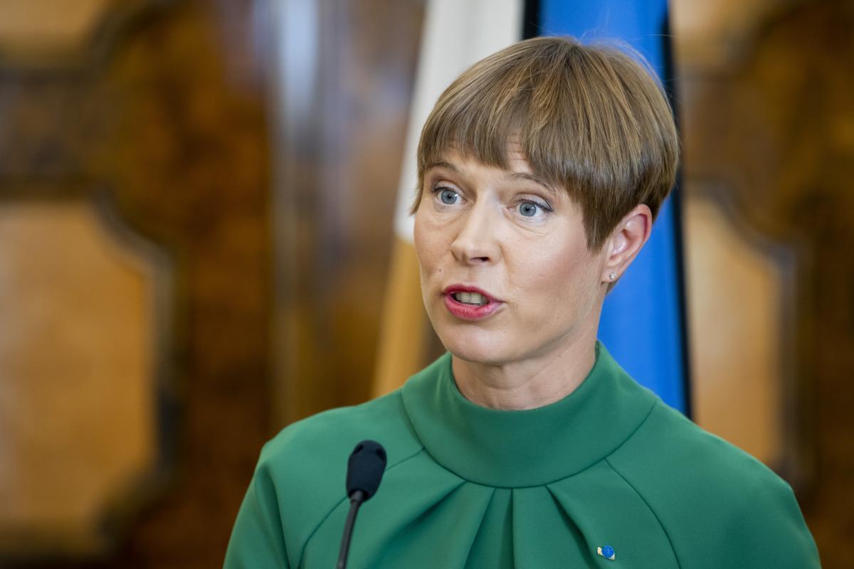 В то же время президент Эстонии говорит, что надеется на европейское будущее для Украины / фото stolitsa.ee