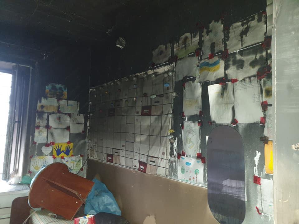 Пожар мог возникнуть из-за проблем с проводкой/ фото: Юлия Паевская/Facebook