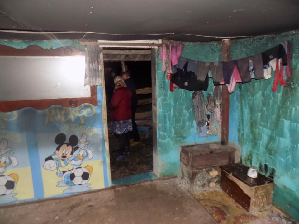 В доме не было ни газа, ни электроэнергии, ни водоснабжения / Фото: Нацполиция