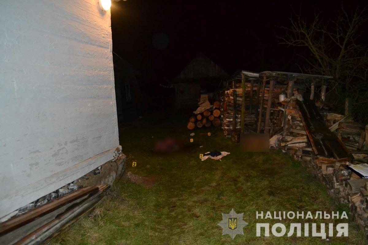 Расчлененное тело погибшей нашел во дворе ее сын / Нацполіція