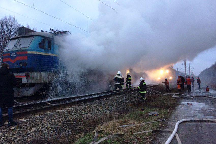 Причина пожежі та завдані збитки встановлюються / фото ДСНС