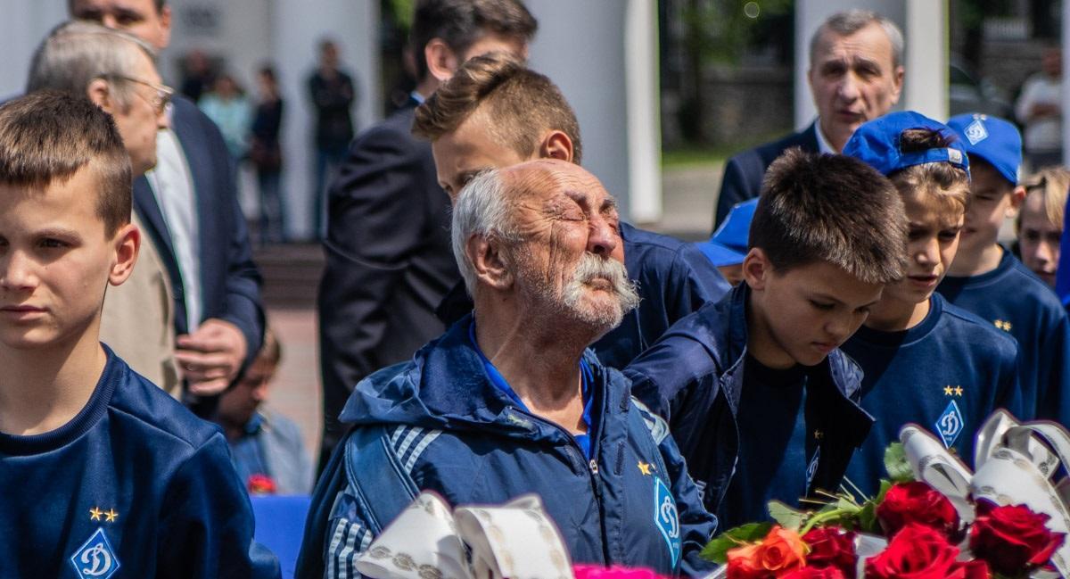 Парамон відвідував усі офіційні заходи Динамо / фото: ФК Динамо