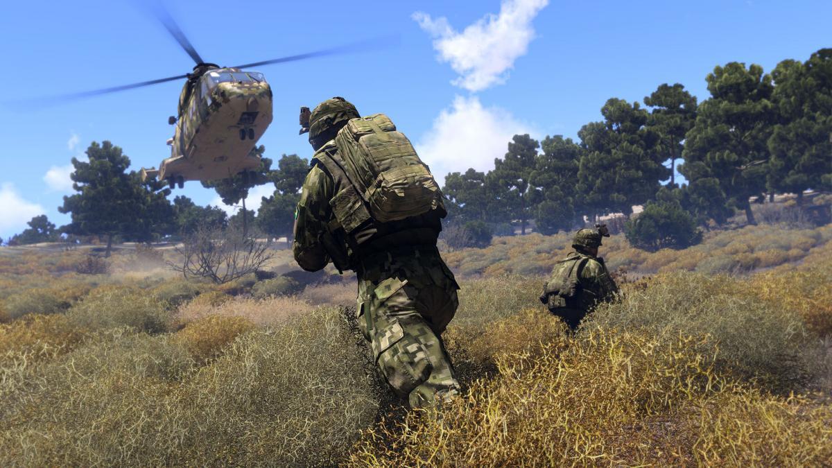 Военный тактический шутер Arma 3 временно стал бесплатным / store.steampowered.com
