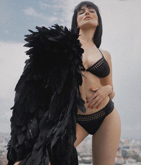 """Астафьева """"засветила"""" грудь / instagram.com/da_astafieva"""