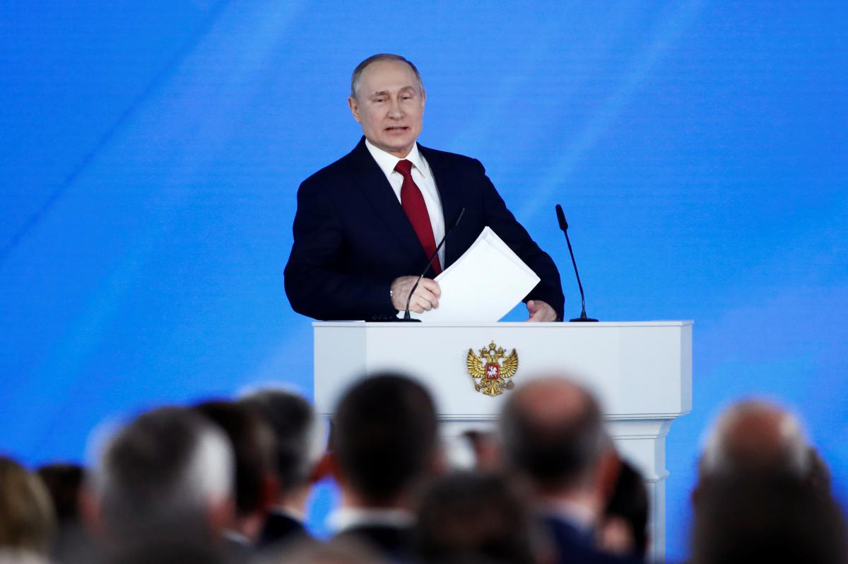 Putin had acoughing fit during a televised online conference / REUTERS