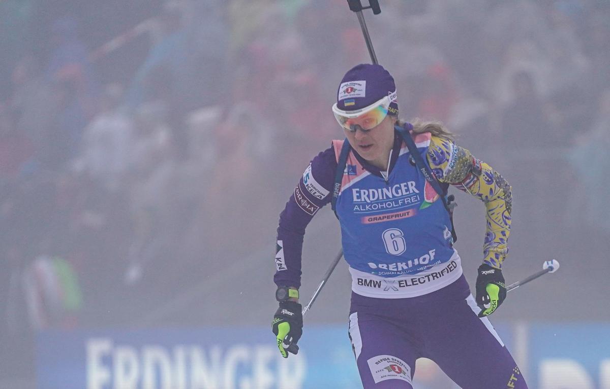 Юлія Джима / фото: biathlon.com.ua