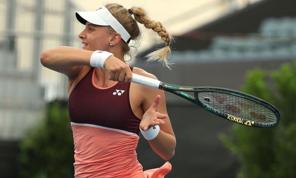 Даяна Ястремская на турнире обыграла двух соперниц из топ-20 / фото: twitter.com/AdelaideTennis