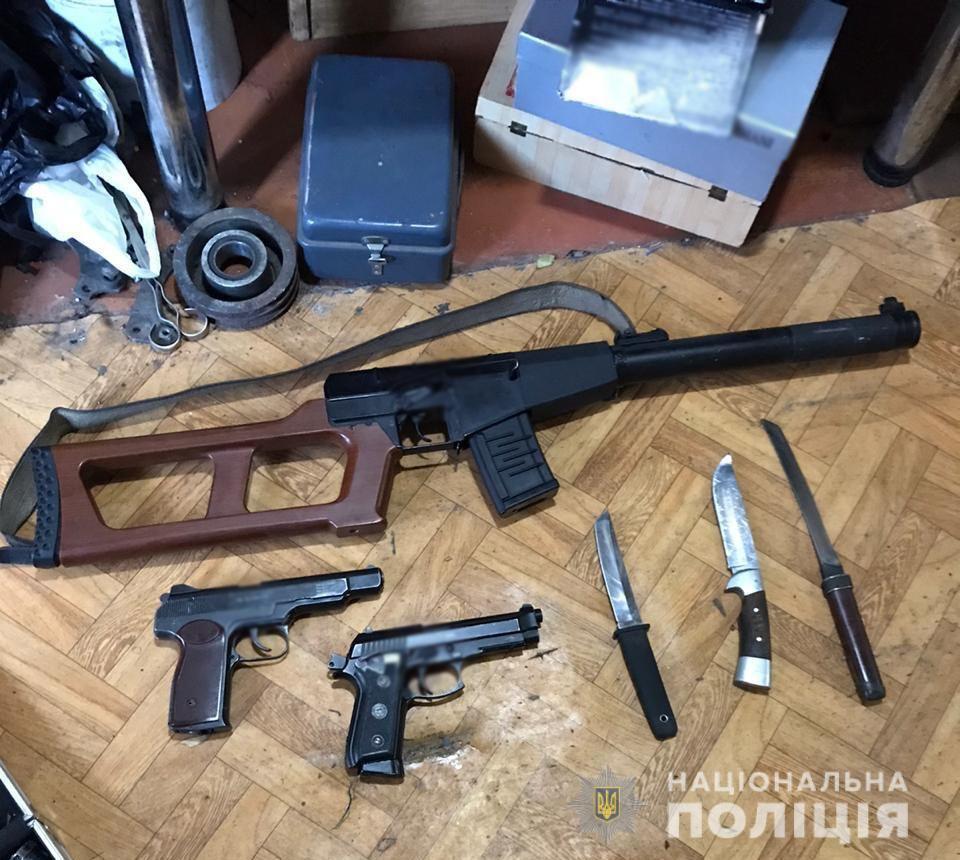 Оружие злоумышленники продавали в различных регионах страны / mvs.gov.ua